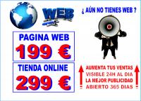Creacion de Paginas Web por 199€