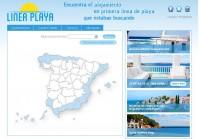 Vendo página web de alquiler de alojamientos en la playa