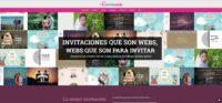 Tienda online de invitaciones por web